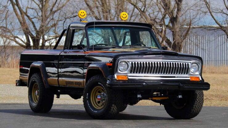 Jeep J10 Golden Eagle Pickup 11