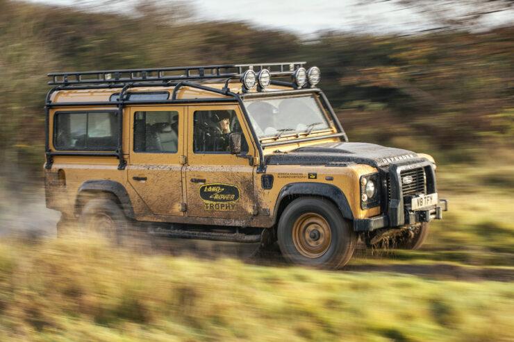 Land Rover Defender Works V8 Trophy 10