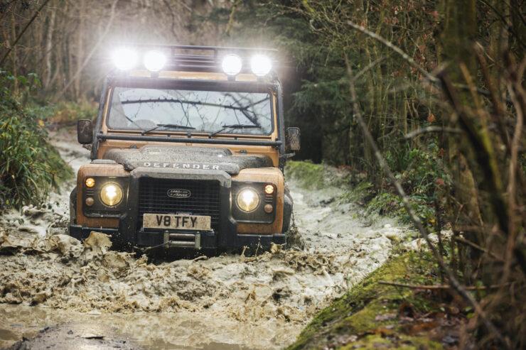 Land Rover Defender Works V8 Trophy 11