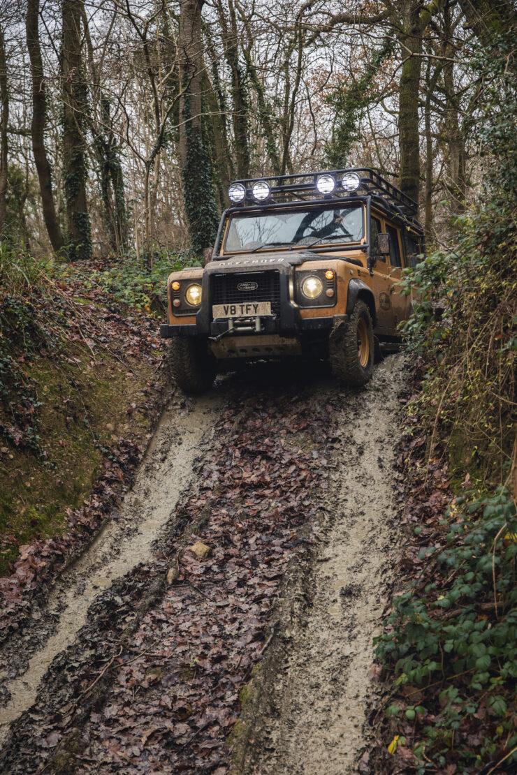 Land Rover Defender Works V8 Trophy 12