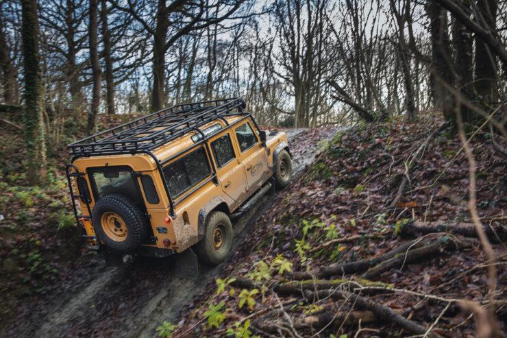 Land Rover Defender Works V8 Trophy 13