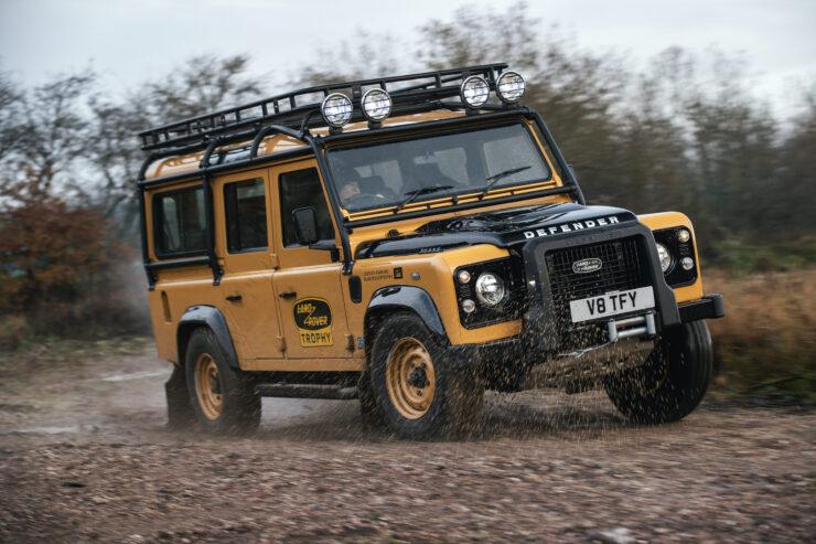 Land Rover Defender Works V8 Trophy 5