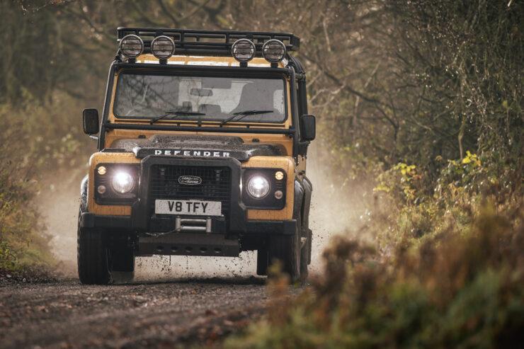 Land Rover Defender Works V8 Trophy 6