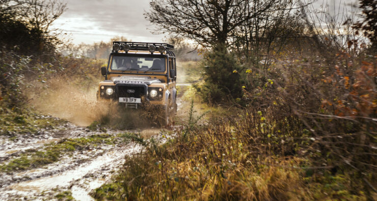 Land Rover Defender Works V8 Trophy 8