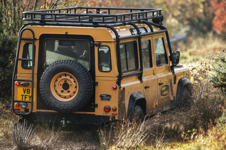 Land Rover Defender Works V8 Trophy 9