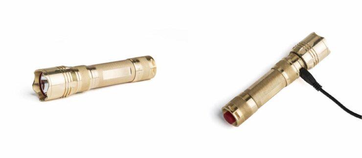 MMR-XBest Made Brass Flashlight 2