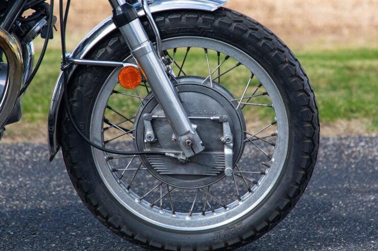 Moto Guzzi V7 Sport Brakes