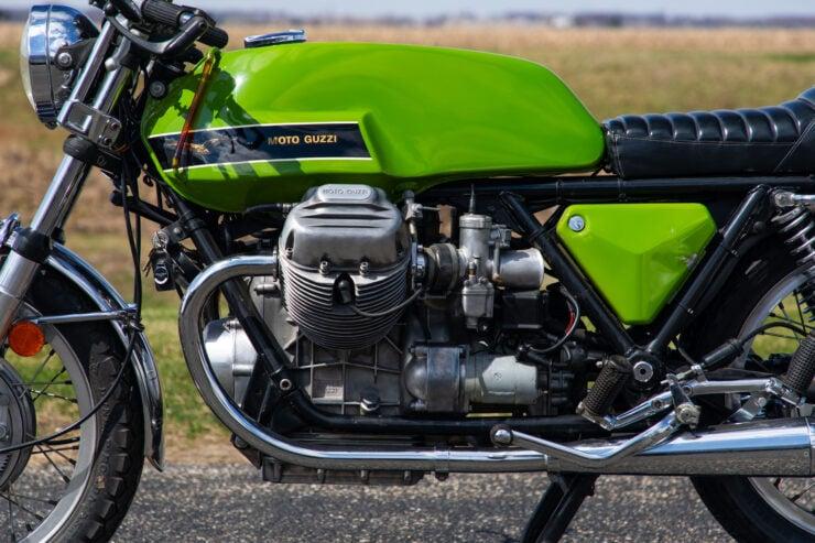Moto Guzzi V7 Sport Engine 2