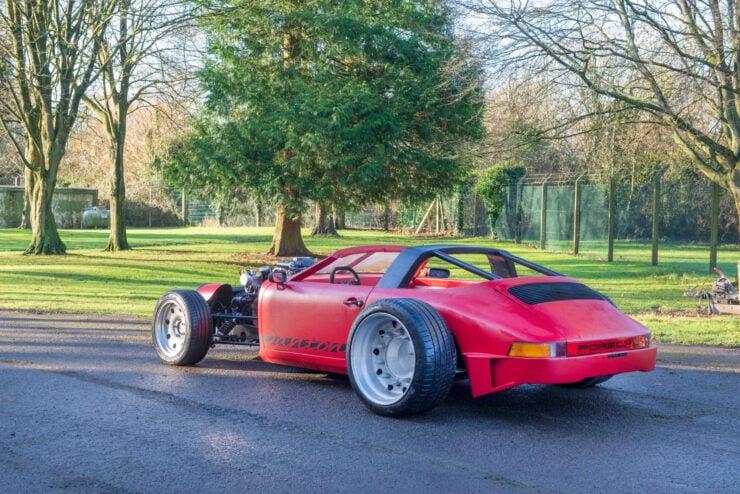 Porsche 911 Bentley V8 Turbo Hot Rod Alexandre Danton 2