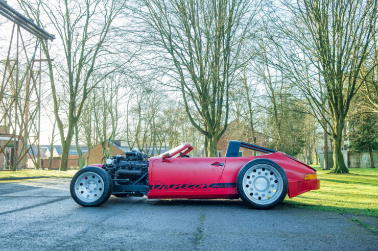 Porsche 911 Bentley V8 Turbo Hot Rod Alexandre Danton 3