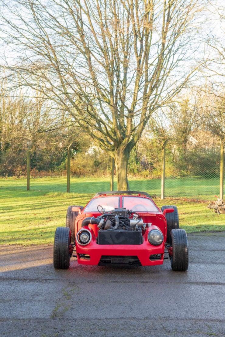Porsche 911 Bentley V8 Turbo Hot Rod Alexandre Danton 9
