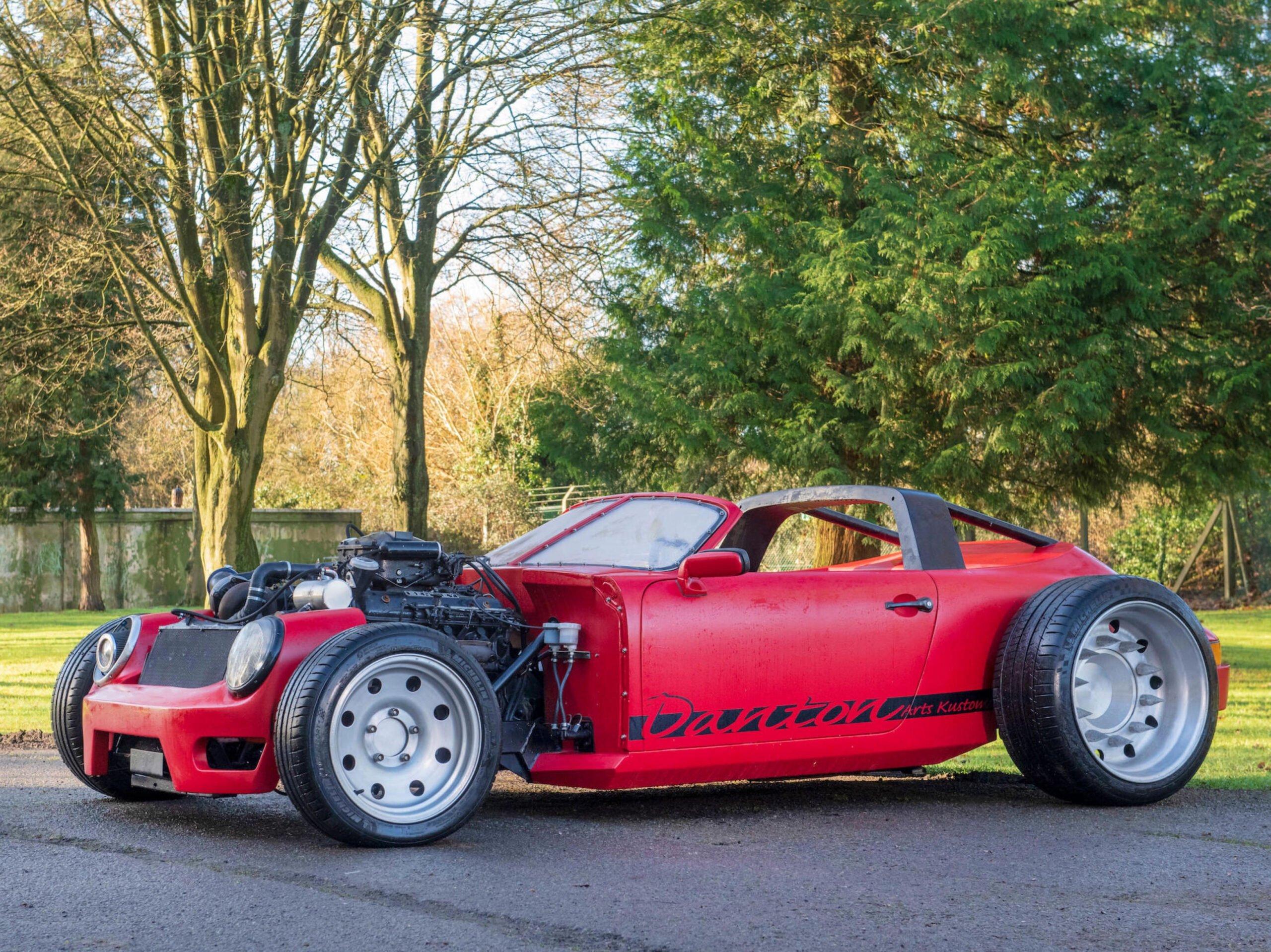 Porsche 911 Bentley V8 Turbo Hot Rod Alexandre Danton