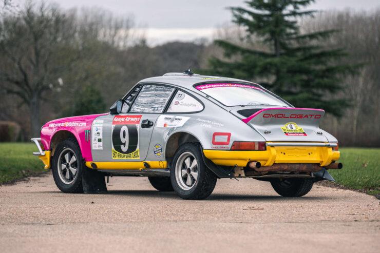 Porsche 911 Safari Rally Car 4