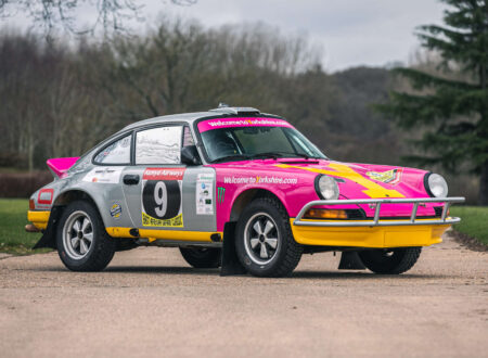 Porsche 911 Safari Rally Car