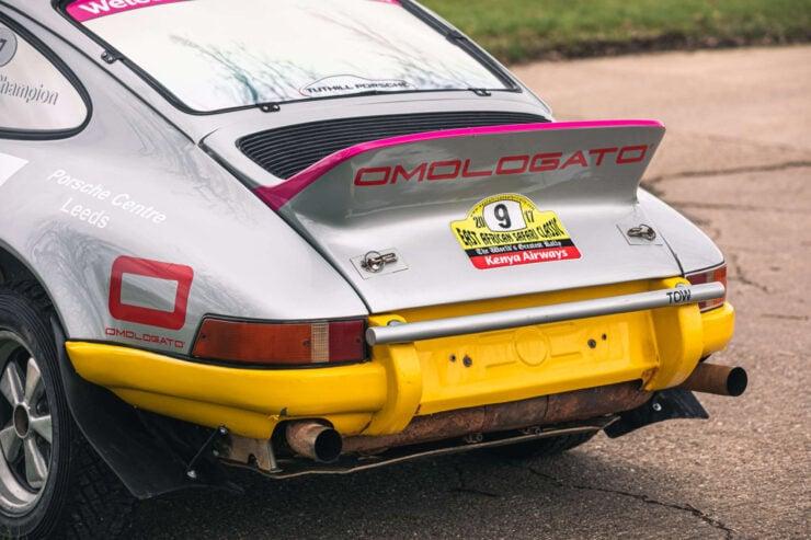 Porsche 911 Safari Rally Car 8