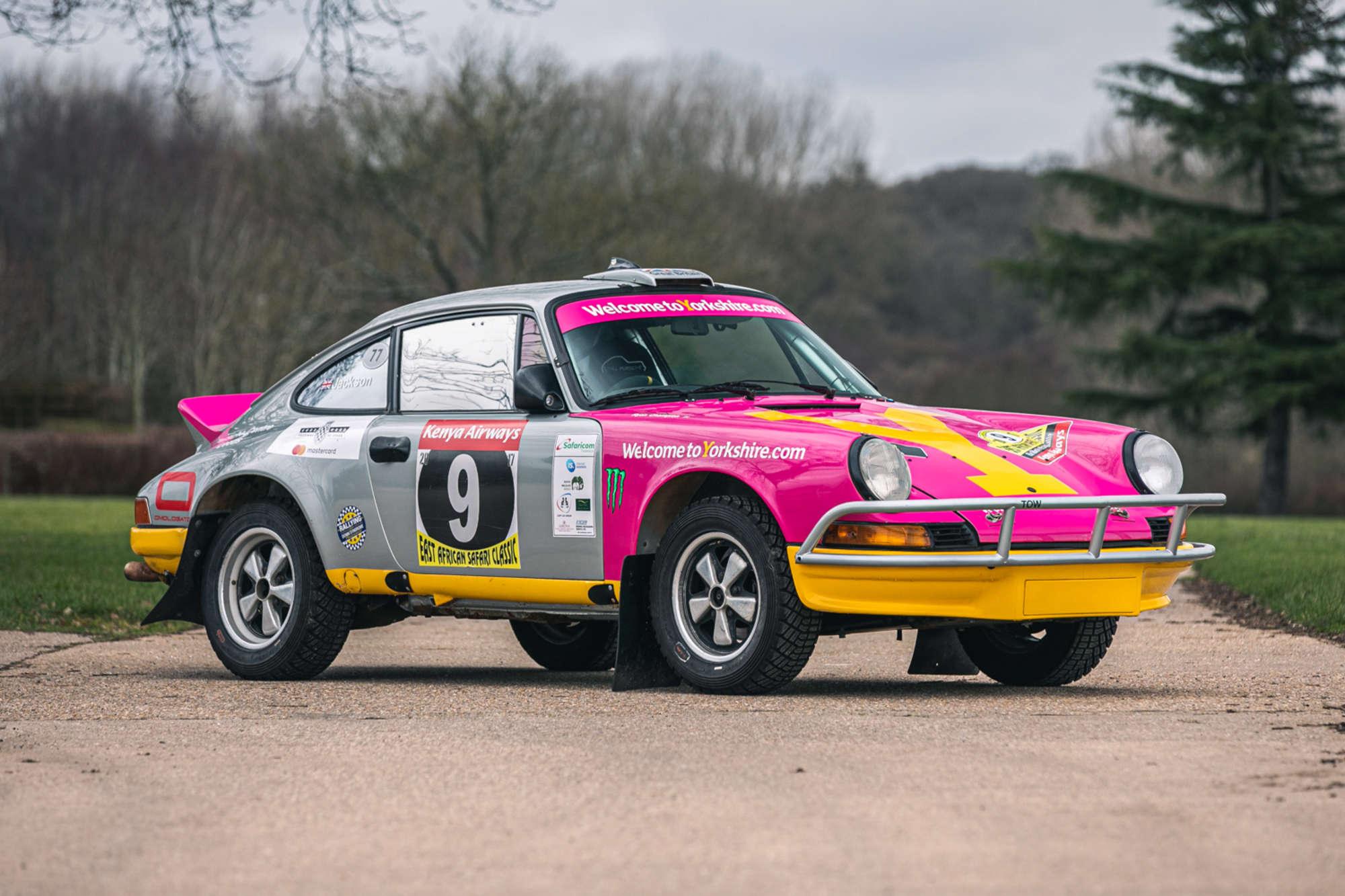 Porsche 911 Safari Rally Car