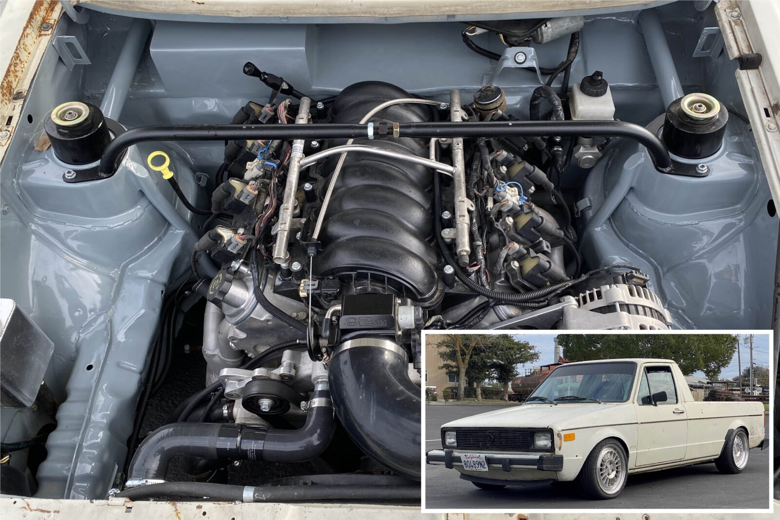 VW Rabbit LS Swap