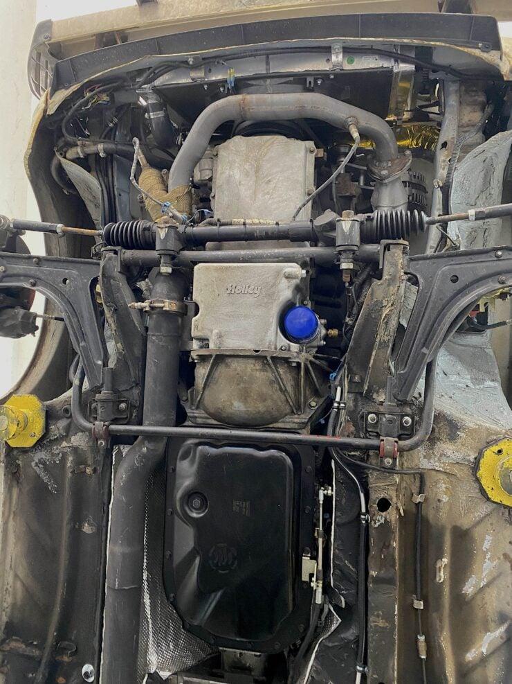 VW Rabbit LS V8 Swap 7