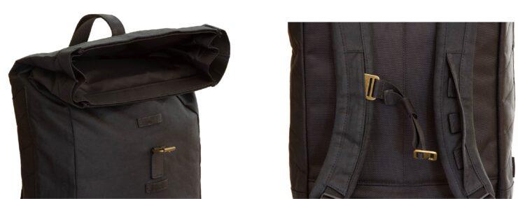Yarnfield Roll Top Bag by Merlin Details