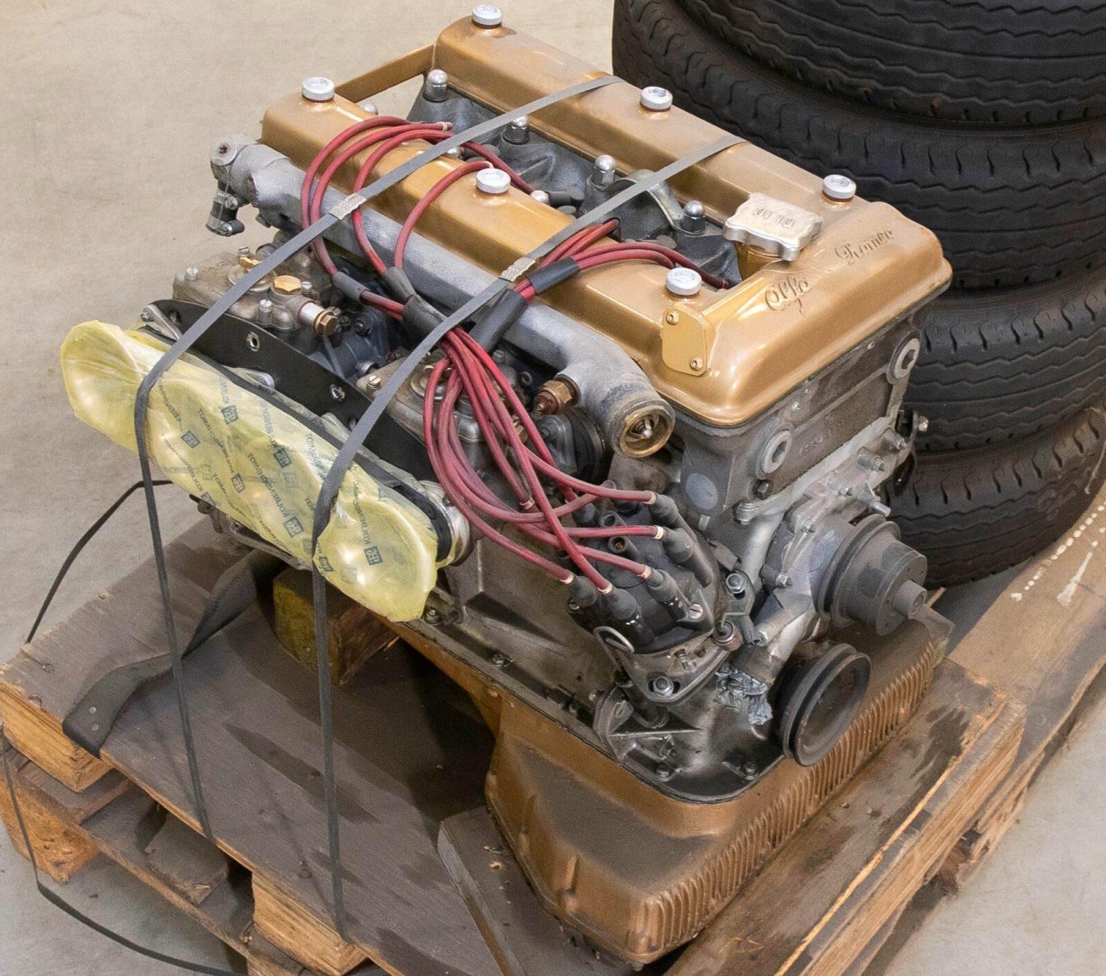 Alfa Romeo Tipo 105 Engine