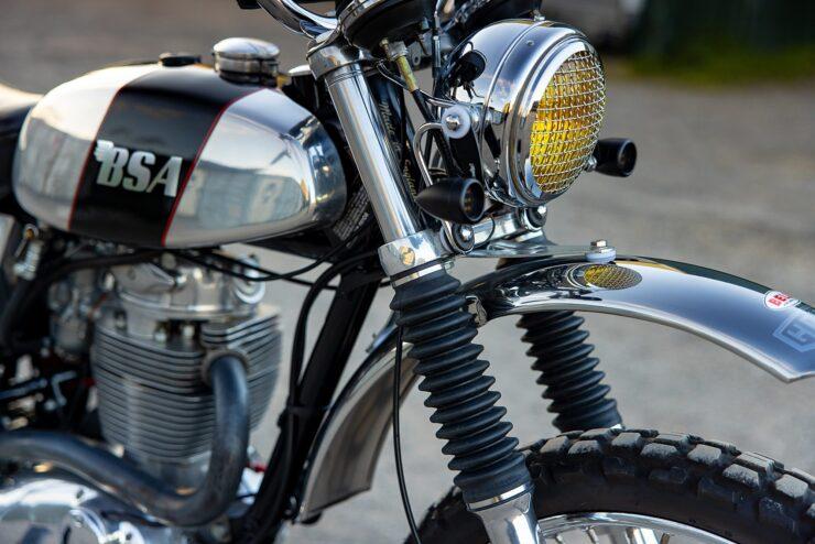 BSA B50 MX Close Up