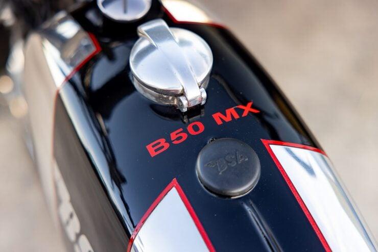 BSA B50 MX Fuel Tank