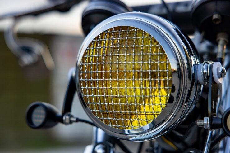 BSA B50 MX Headlight