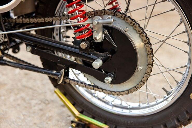 BSA B50 MX Rear Wheel