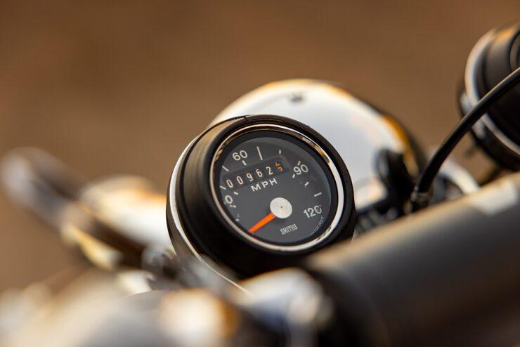 BSA B50 MX Speedo
