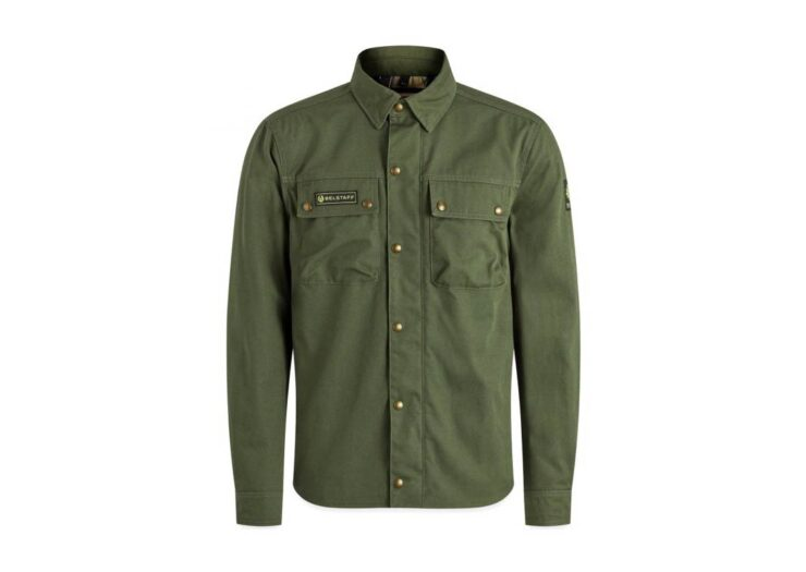 Belstaff Mansion Riding Shirt Green