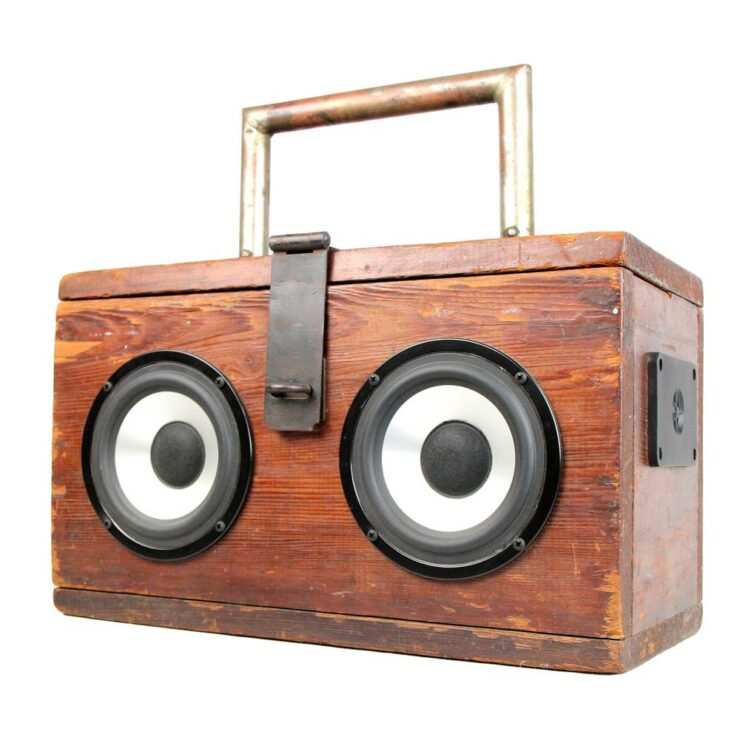 BoomCase BoomBox Stereo 1