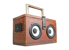 BoomCase BoomBox Stereo