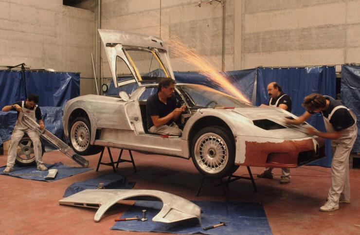 Bugatti EB110 Prototype Fabrication