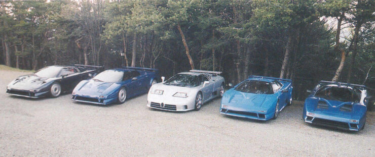 Bugatti EB110 Prototypes