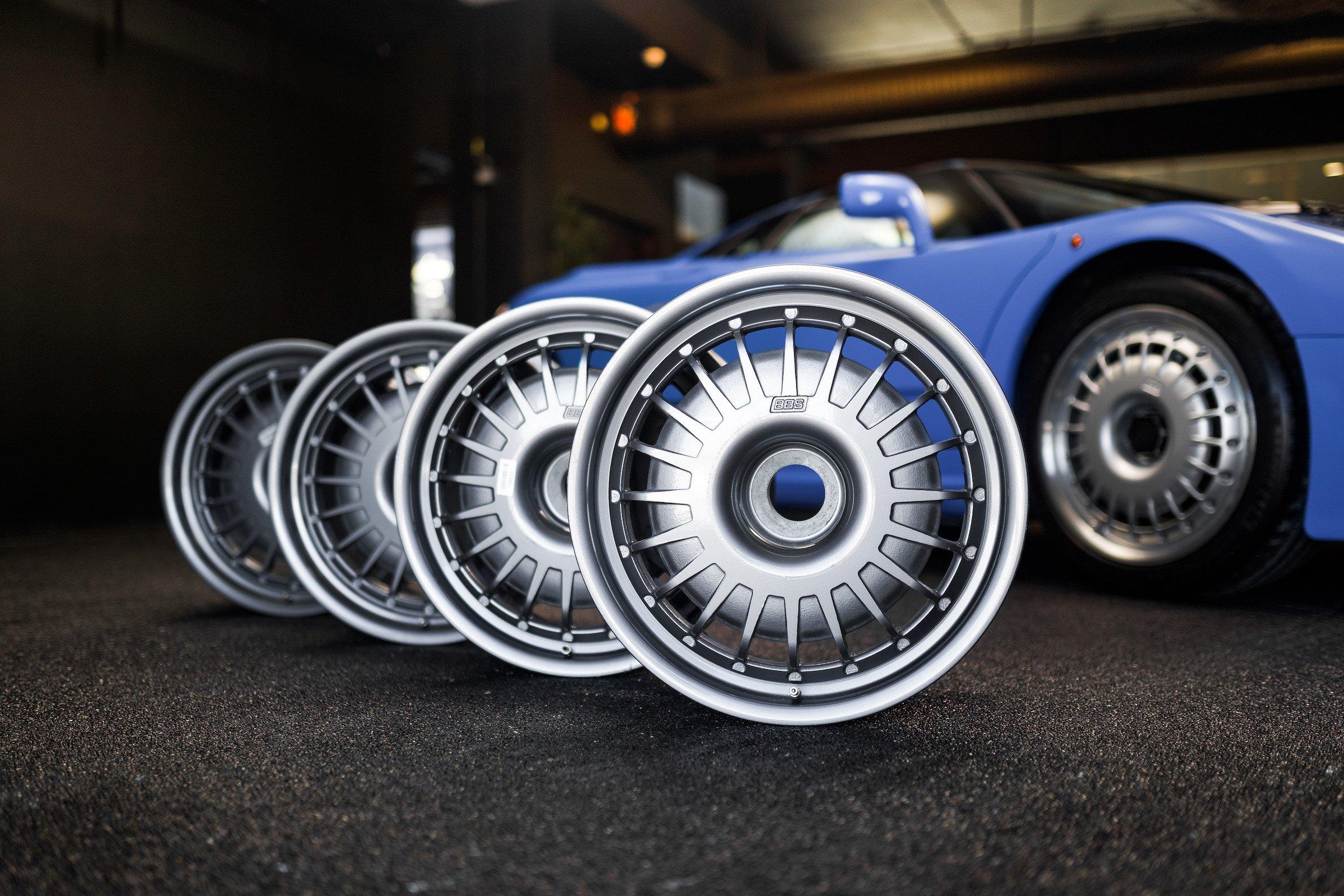 Bugatti EB110 Wheels