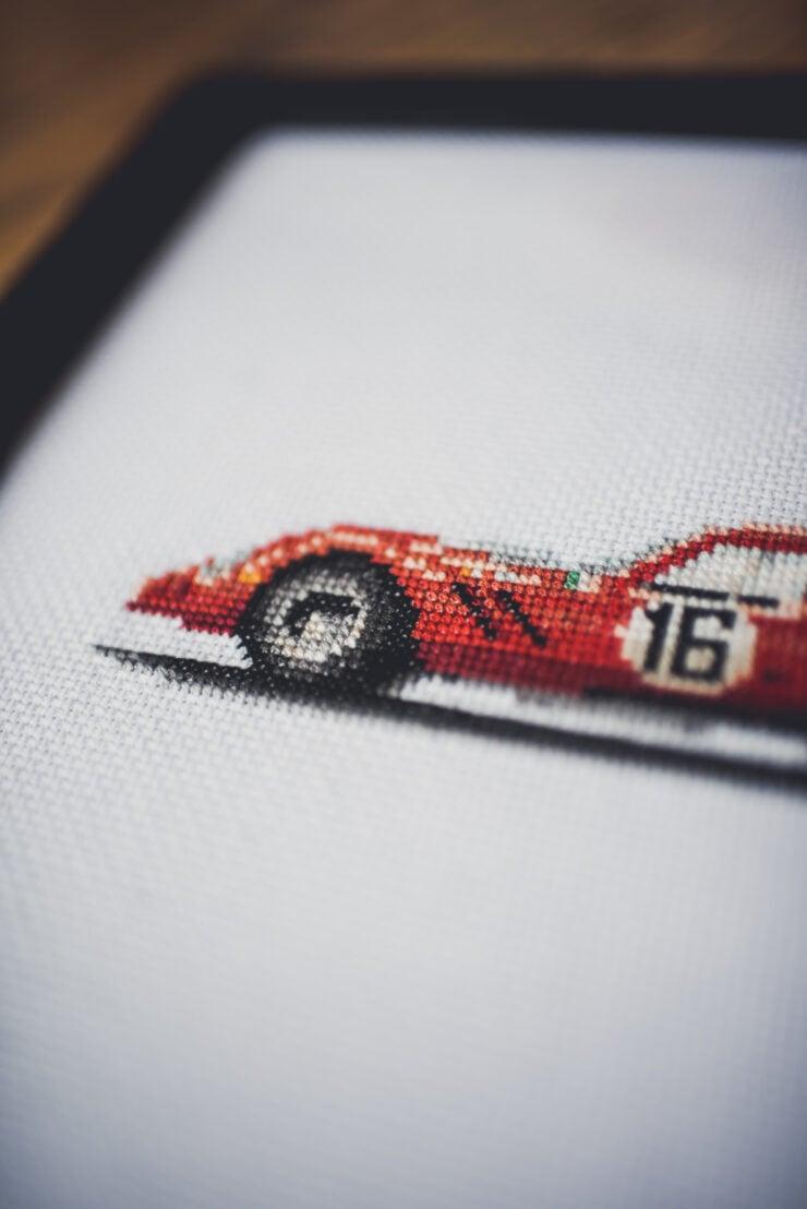 CforCROSSSTITCH Automotive Cross Stitch 12