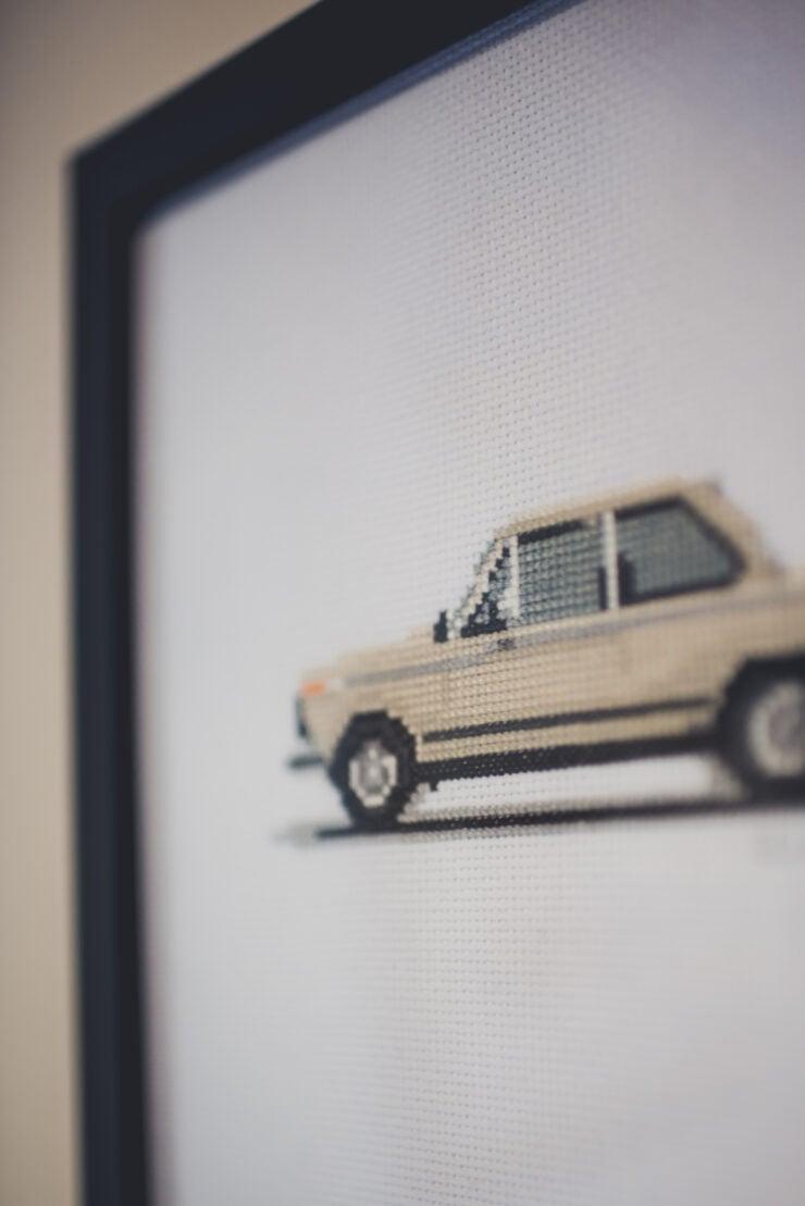 CforCROSSSTITCH Automotive Cross Stitch 13