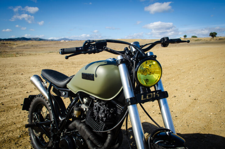 Custom Yamaha XT600 10