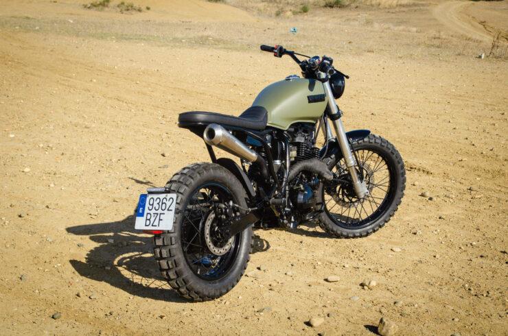 Custom Yamaha XT600 12