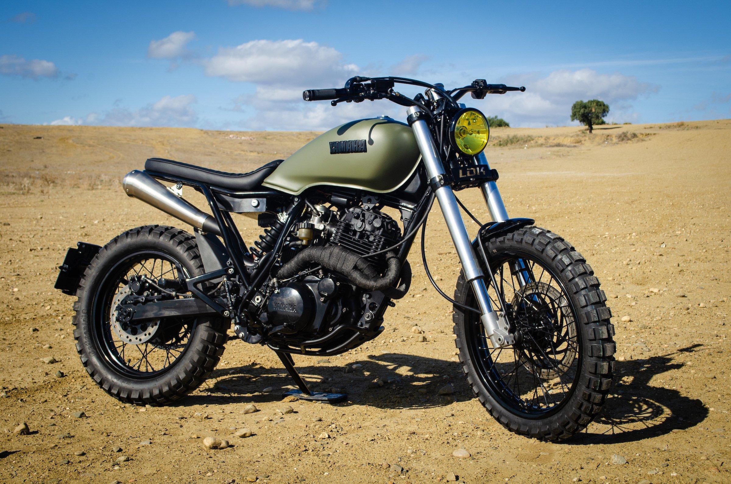 Custom Yamaha XT600 13