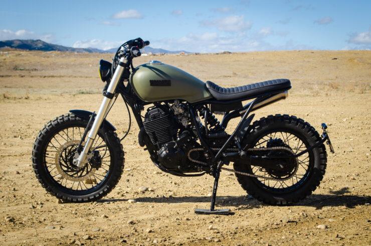 Custom Yamaha XT600 4