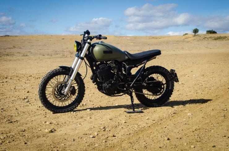 Custom Yamaha XT600 5