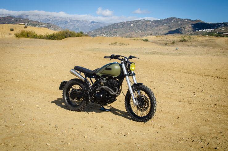 Custom Yamaha XT600 7