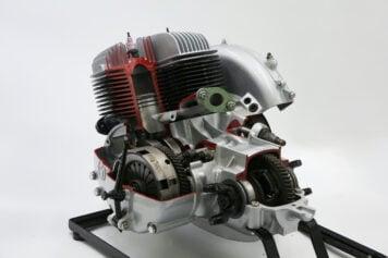 Goggomobil Cutaway Engine 5