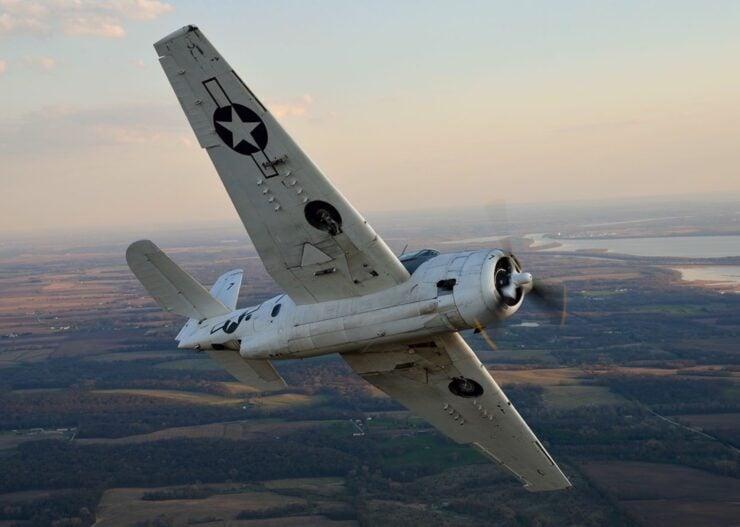 Grumman Avenger Flying
