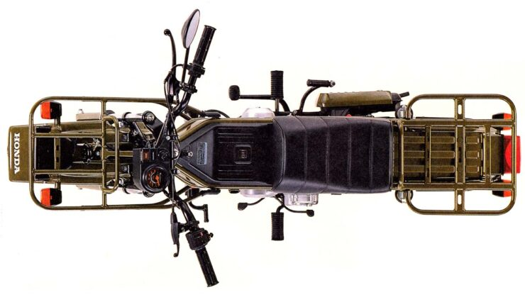 Honda CT50 Motra Brochure 6