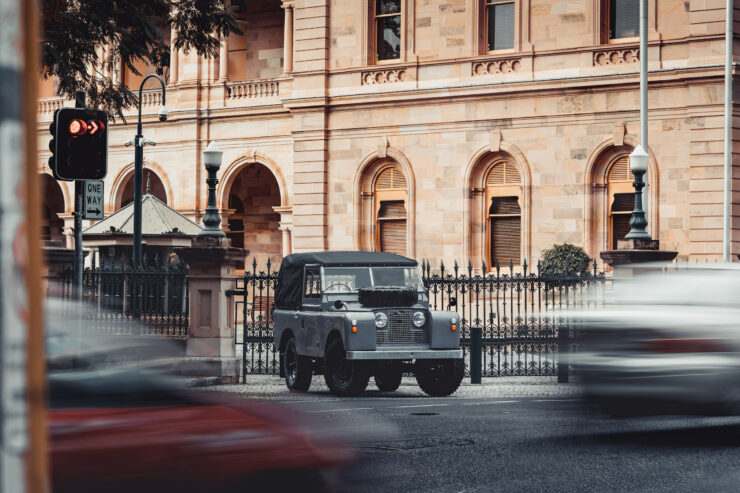 Land Rover Series 2A Restoration 9