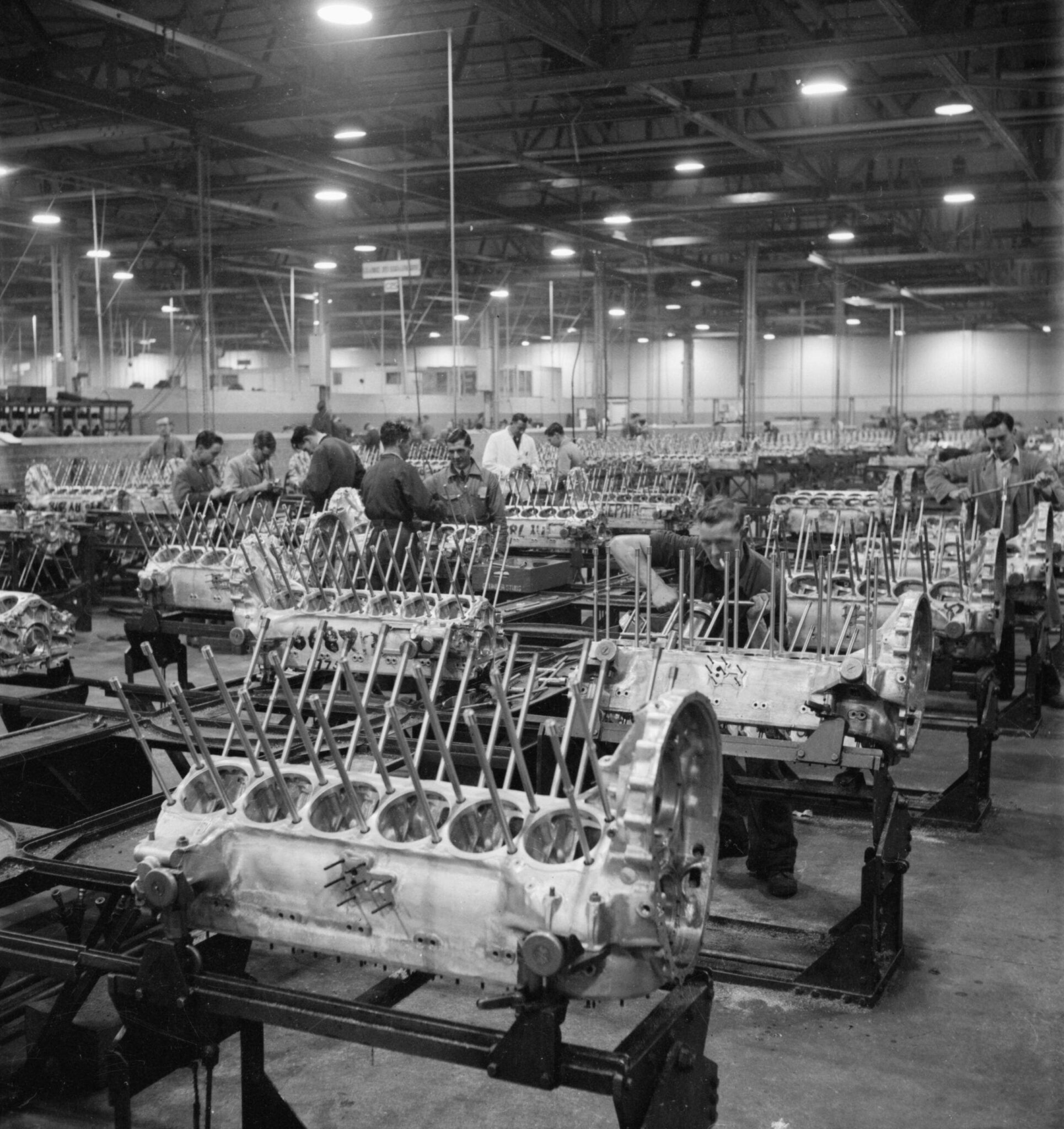 Documentary: The Design, Development, And Construction Of The Rolls-Royce Merlin Engine