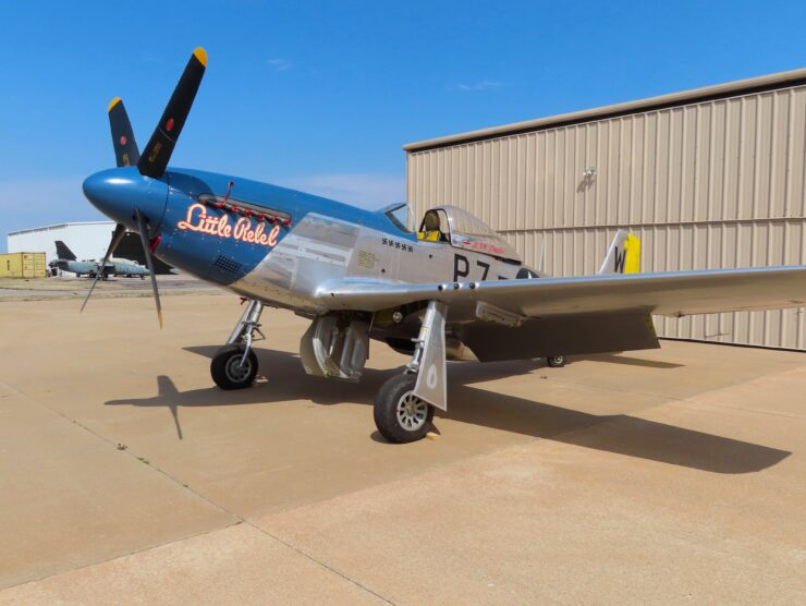 North American P-51D Mustang 3