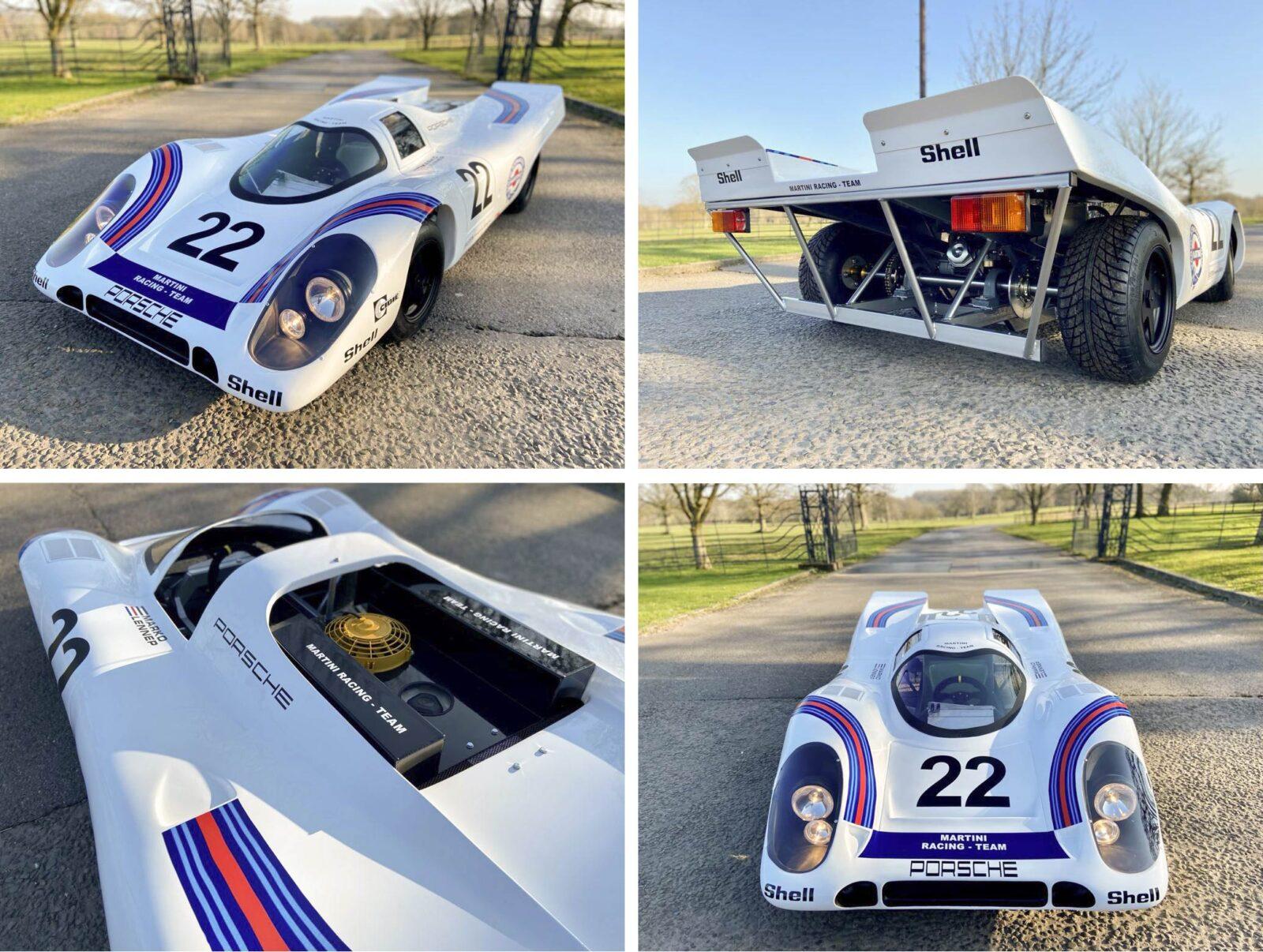 Porsche 917 Model Car